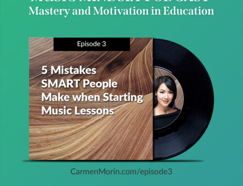 #3: 5 Mistakes SMART People Make Starting Music Lessons